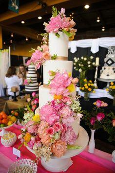 Cake by The Mischief Maker | Sugar Flower Cake #mischiefmakercakes
