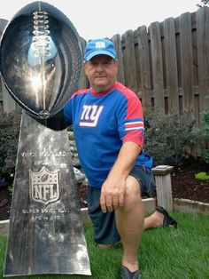 Celebrate the New York Giants Superbowl XLVI win! #LombardiTrophy