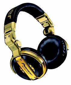 Pioneer HDJ1000 Gold DJ Headphones