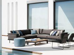 3 Seater Corner Sofa Natal Alu Sofa Collection By TRIBÙ | Design Studio  Segers