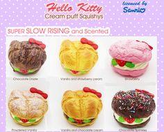 sillysquishies.com  - Hello Kitty Cream Puff Squishy - Sanrio Licensed, $14.99 (http://www.sillysquishies.com/hello-kitty-cream-puff-squishy/)
