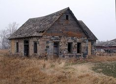 Minnesota abandoned farms house.