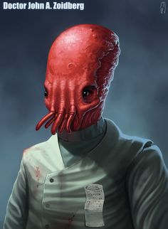 "A new concept for John Zoidberg in ""Doctor Zoidberg yet again!"" by Hansell 