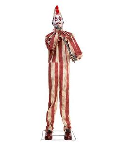 Silent and Deadly Clown - This creature ain't clownin' around in your house. Silent and Deadly Clown is looking to scare the pants off everyone he crosses. So don't expect any Halloween Spirit Store, Halloween Wishes, Halloween This Year, Halloween Items, Vintage Halloween, Fall Halloween, Halloween Decorations, Halloween Clown, Wolves