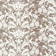 """Good Life Chintz, Taupe  From the """"Good Life"""" collection by Wooster & Prince produced by Robert Kaufman."""
