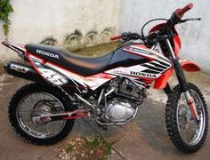 Honda XR 150L Bross Honda, Decal, Motorcycle, Bike, Vehicles, Custom Bikes, Cool Bikes, Motorcycles, Bicycle