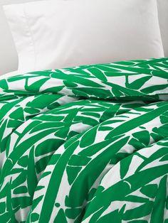 Diane von Furstenberg GIANT GRASS TWIN Duvet COVER DVF - NWOT $75