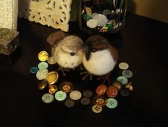 Needle-felting tutorial to make these little birds