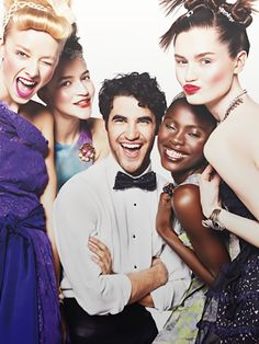 Best teen vouge photoshoot ever   only because it had Darren Criss in it