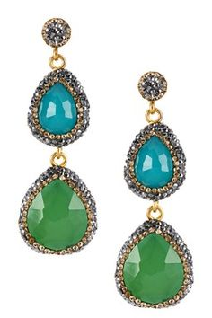 Grand Bazaar Double Drop Earrings