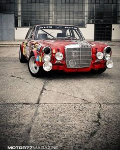 The Red Pig - 1971 Mercedes–Benz 300 SEL 6.8 AMG.