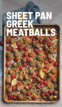 Clean Recipes, Easy Recipes, Cooking Recipes, Healthy Recipes, Mediterranean Spices, Mediterranean Diet Recipes, Meatloaf Recipes, Meatball Recipes, Dessert For Dinner