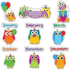 Carson Dellosa Colorful Owls Birthday Bulletin Board Set (110227) Carson-Dellosa http://www.amazon.com/dp/1624420354/ref=cm_sw_r_pi_dp_ZHdwub0KK9V79