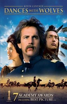 Dances With Wolves loved this Kevin Costner film, long but worth it. Film Movie, See Movie, Movie List, Epic Movie, Cinema Tv, I Love Cinema, Kevin Costner, Old Movies, Great Movies