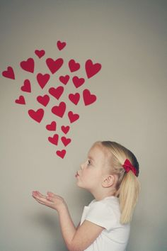 for valentine photo op (Maisey should do this!  it would be so cute!)