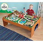 #Walmart: 100-Piece KidKraft Ride Around Town Train Table and Set $89.60 and more #LavaHot http://www.lavahotdeals.com/us/cheap/100-piece-kidkraft-ride-town-train-table-set/99508