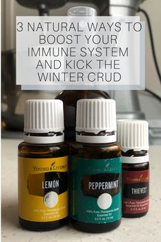 Learn how to boost your immune system the natural way using plant based products and essential oils. Tips and DIY recipes for the whole family, children too! #wintergreenwellness #naturesmedicine #immuneboost