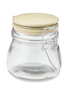 Glass Spice Jars with Ceramic Lids, Set of 4 #WilliamsSonoma