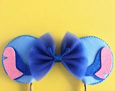 Stitch Mouse Ears, Lilo and Stitch Ears, Stitch Inspired Ears Disney Diy, Diy Disney Ears, Disney Mickey Ears, Disney Crafts, Cute Disney, Disney Trips, Disney Halloween Ears, Mickey Ears Diy, Tigger Halloween