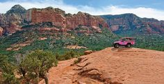 Choose Pink Jeep Tours Sedona AZ for your off road red rock excursion. Pink Jeep Tours provides a wide variety of tours. Book your adventure today!
