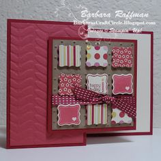Barbara's Craft Circle: Last Week to Sale-a-Brate!