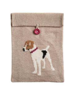 INTARSIAIPAD Intarsia Knitted iPad cover