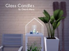 Single Glass Candles For The Sims 4!