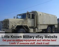 Military eBay Get Your Ex Military Equipment & Vehicles Here