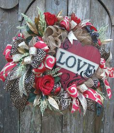 A personal favorite from my Etsy shop https://www.etsy.com/listing/504460575/valentine-heart-wreath-valentine-animal
