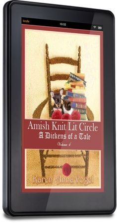 Amish Knit Lit Circle - Volume 4 - A Dickens of A Tale