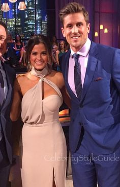 JoJo's daring dress was perfect for the After the Final Rose special!
