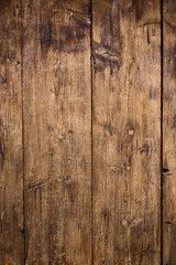 Old wooden planks surface background