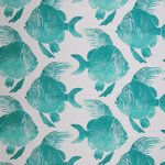GH Outdoor Electric Lime and Teal | greenhousefabrics.com 203423S Turquoise