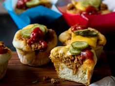 Mini Cheeseburger: Der US-Klassiker aus der Muffinform
