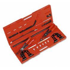Kit Profesional para Válvulas Universal Este kit ha sido desarrollado para extraer y montar los muelles de válvulas, con la culata aún en el motor, o con la culata quitada.  www.motortool.es