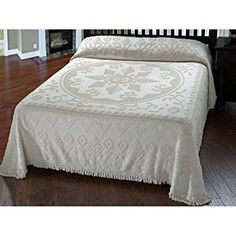 Maine Heritage New England Tradition Bedspread - Queen - White