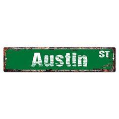 "Street Sign Home Decor Endearing Pennsylvania Avenue Custom Street Sign 6X24"" Novelty Sign Home 2018"