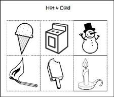 12 best hot and cold images on Pinterest Preschool, Day care and Hot and cold pictures for preschool
