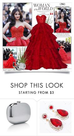 """""""Aishwarya Rai - Cannes Film Festival!!"""" by lilly-2711 ❤ liked on Polyvore featuring Amrapali, RALPH & RUSSO, Etiquette, Giuseppe Zanotti, RedCarpet, cannes, AishwaryaRai and RalphRusso"""