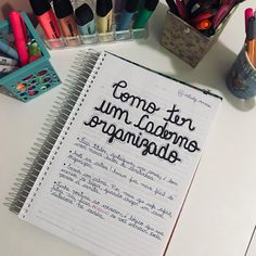"""2,438 curtidas, 47 comentários - #studygram ♡ (@studiesannee) no Instagram: """"COMO TER UM CADERNO ORGANIZADO 📚 bom, preparei esse post com o objetivo de auxiliar a todos que tem…"""""""