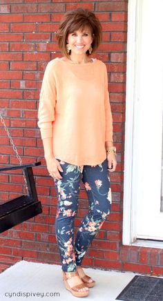"<a href=""http://cyndispivey.com/2012/08/22/what-i-wore-2/"">What I Wore</a>-Spring Fashion 2014"