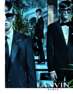 Lanvin Men's Fashion Campaign: Spring-Summer 2013 ~ Men Chic- Men's Fashion and Lifestyle Online Magazine