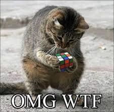 """OMG - it say """"ENRON"""" all over it!  (Inside joke.  I have a box of Enron Rubik's cubes. They came into my hands after the CA energy crisis.)"""