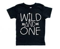 ersten Geburtstag Shirt Wild und Geburtstag Shirt EINER