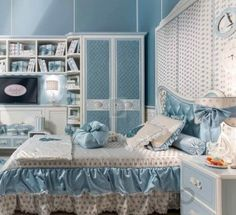 #kidsroom #childrenroom #designideas #furniture #kids #children #design #style #interior Комплект в детскую Ebanisteria Bacci Sophie Baby, N.00P