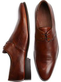 Belvedere Gosto Black Lace Up Dress Shoes