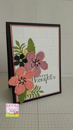 Stampin up Botanical blooms card i made. Also made 2 others similar because i loved it so much!!