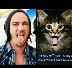 Adam Gontier. Haha, this is so cuttteee!!!