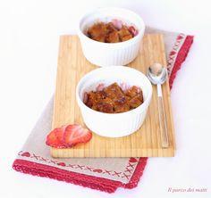 Crumble di colomba alle fragole - ricetta primaverile