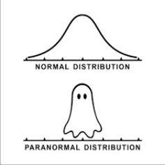 Normal Distribution vs. PARAnormal distribution                                                                                                                                                                                 More
